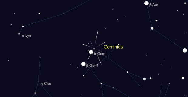 Geminids in  on October,15 2019