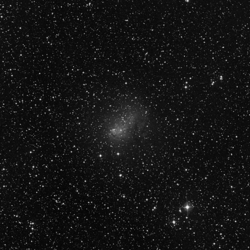 Image of IC 10 - Irregular Galaxy in Cassiopeia star