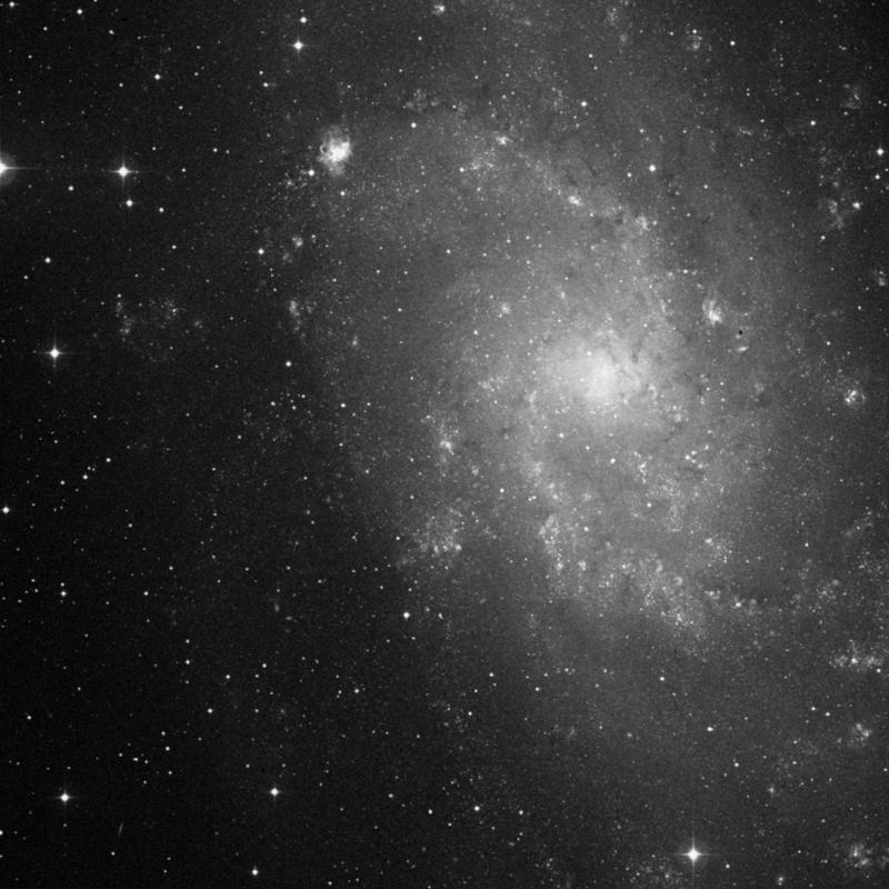 Image of IC 135 - HII Ionized region in Triangulum star