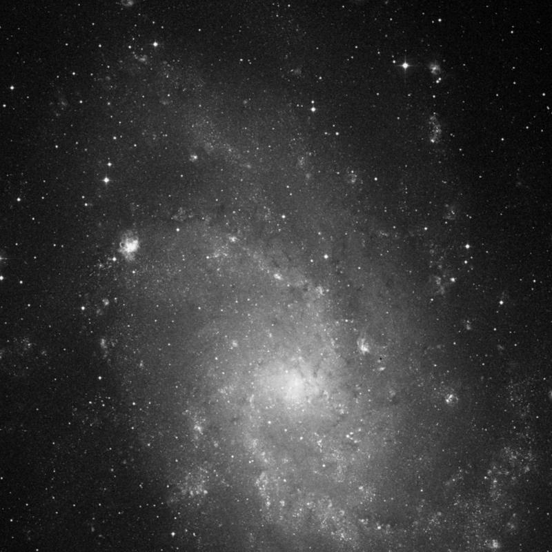 Image of IC 142 - HII Ionized region in Triangulum star