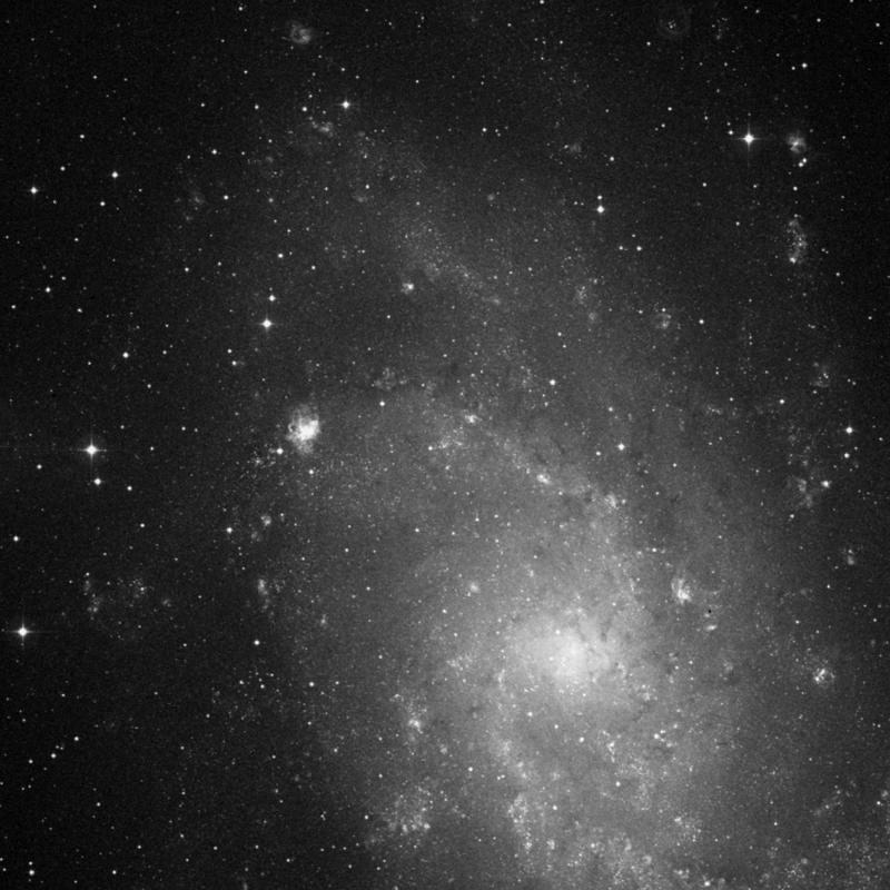 Image of IC 143 - HII Ionized region in Triangulum star