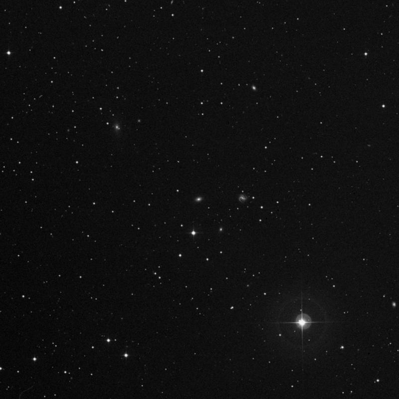 Image of IC 190 - Elliptical Galaxy in Aries star