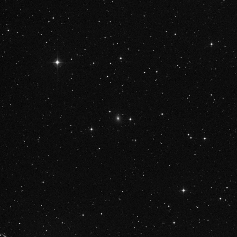 Image of IC 1054 - Lenticular Galaxy in Virgo star