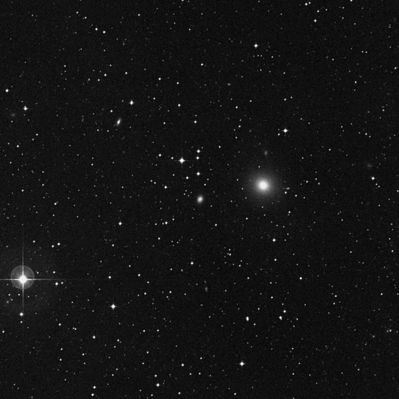 Image of IC 1084 - Elliptical/Spiral Galaxy in Libra star