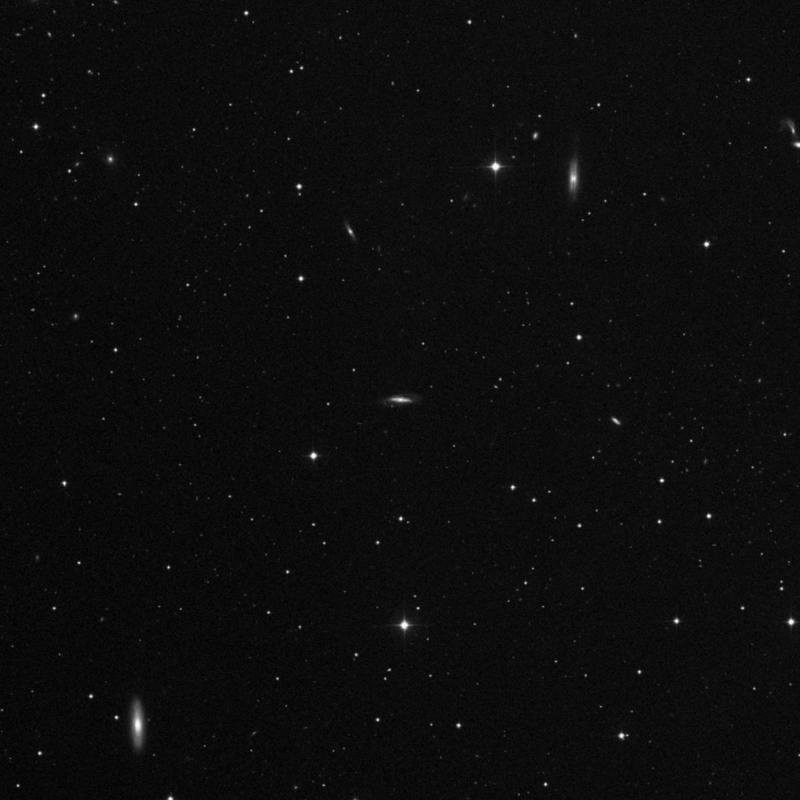 Image of NGC 4675 - Barred Spiral Galaxy in Ursa Major star
