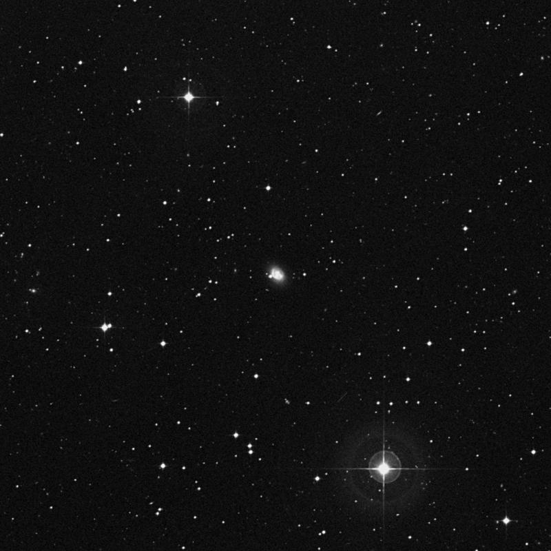 Image of NGC 4680 - Lenticular Galaxy in Corvus star