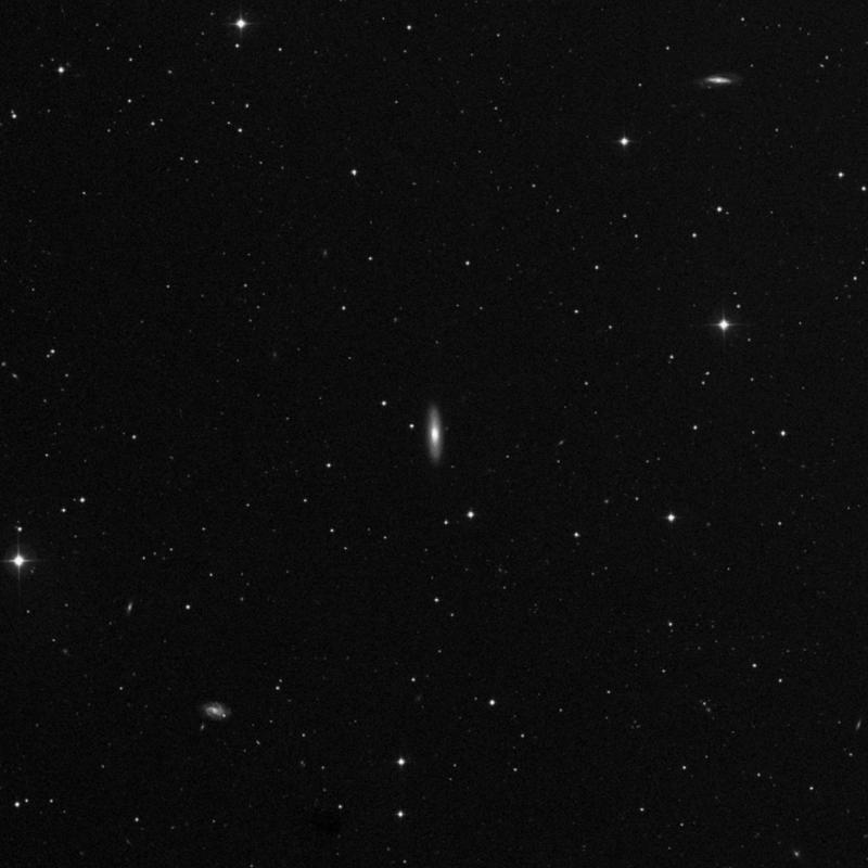 Image of NGC 4686 - Spiral Galaxy in Ursa Major star