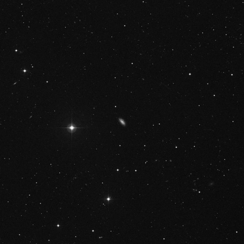 Image of NGC 4711 - Barred Spiral Galaxy in Canes Venatici star