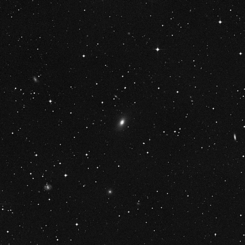 Image of NGC 4714 - Elliptical/Spiral Galaxy in Corvus star