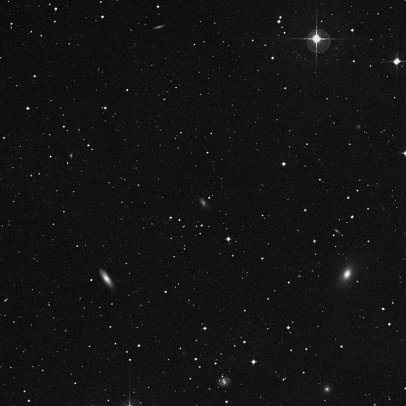 Image of NGC 4723 - Intermediate Spiral(SABm) Galaxy in Corvus star