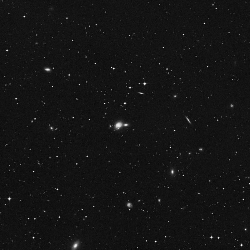 Image of NGC 4724 - Elliptical/Spiral Galaxy in Corvus star