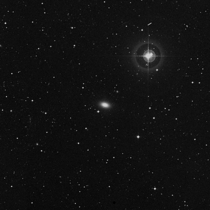 Image of NGC 4742 - Elliptical Galaxy in Virgo star