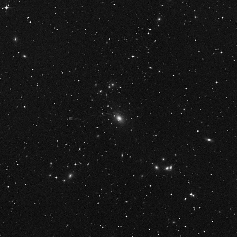 Image of NGC 4756 - Elliptical/Spiral Galaxy in Corvus star