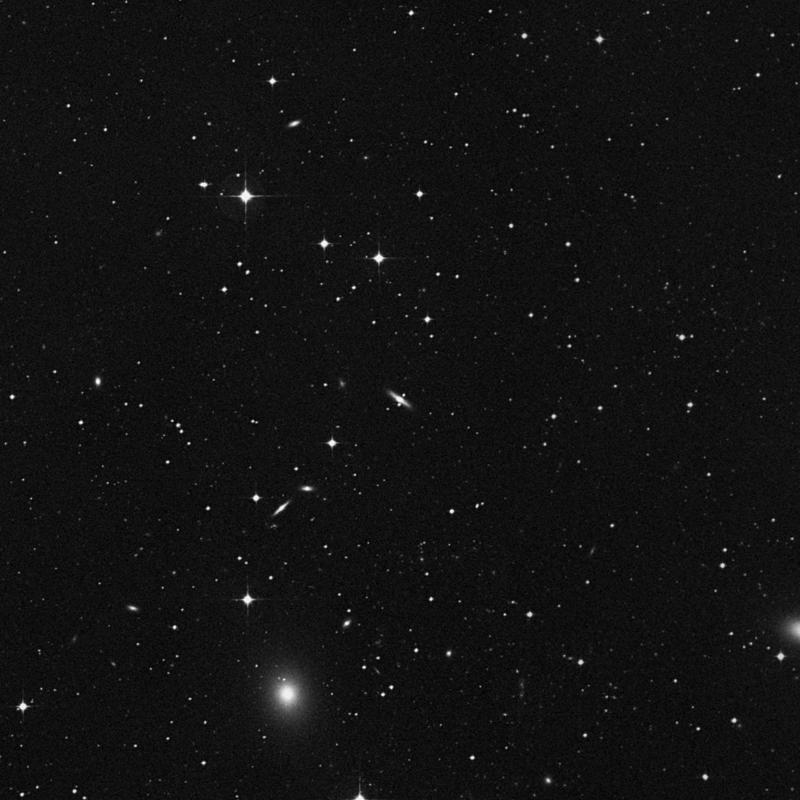 Image of NGC 4757 - Lenticular Galaxy in Virgo star