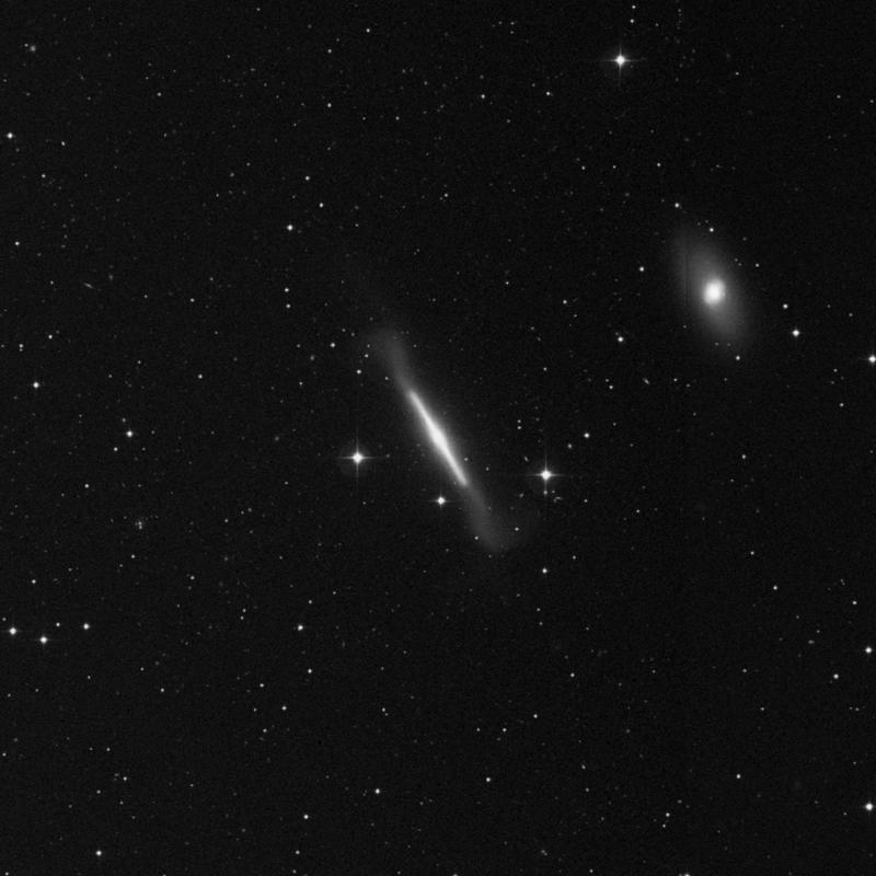 Image of NGC 4762 - Lenticular Galaxy in Virgo star