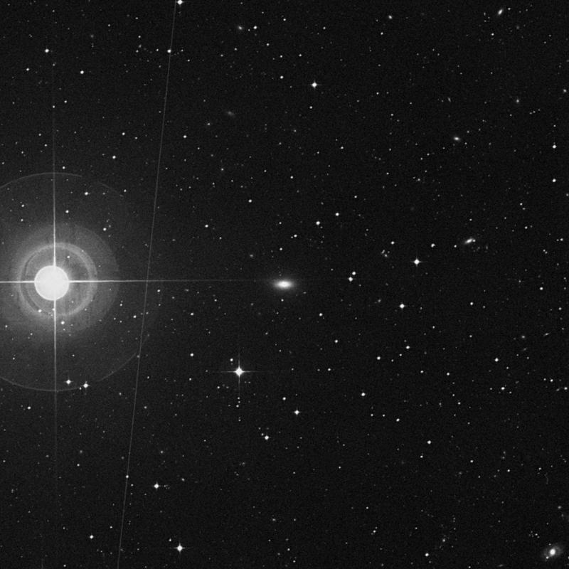 Image of NGC 4770 - Lenticular Galaxy in Virgo star
