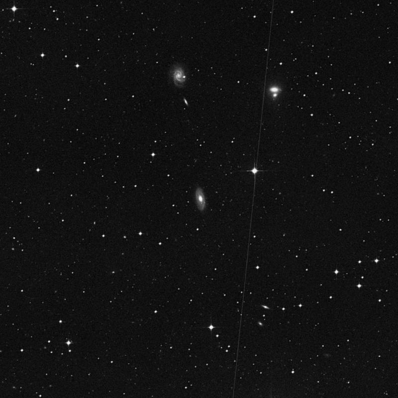 Image of NGC 4777 - Intermediate Spiral Galaxy in Virgo star