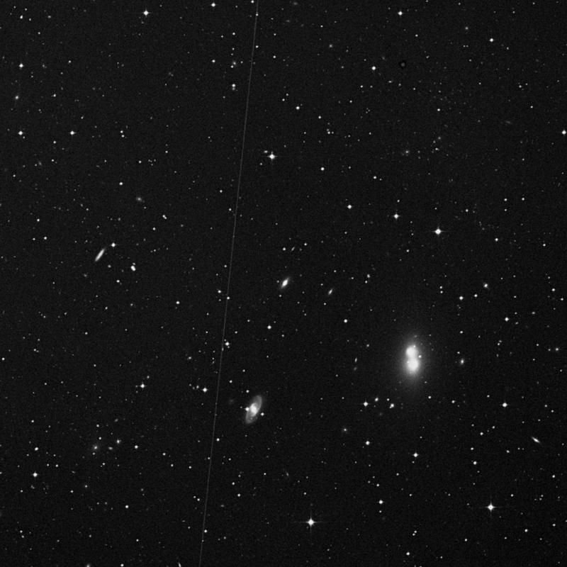 Image of NGC 4792 - Lenticular Galaxy in Corvus star