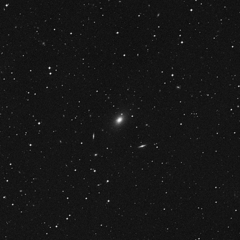 Image of NGC 4825 - Elliptical/Spiral Galaxy in Virgo star