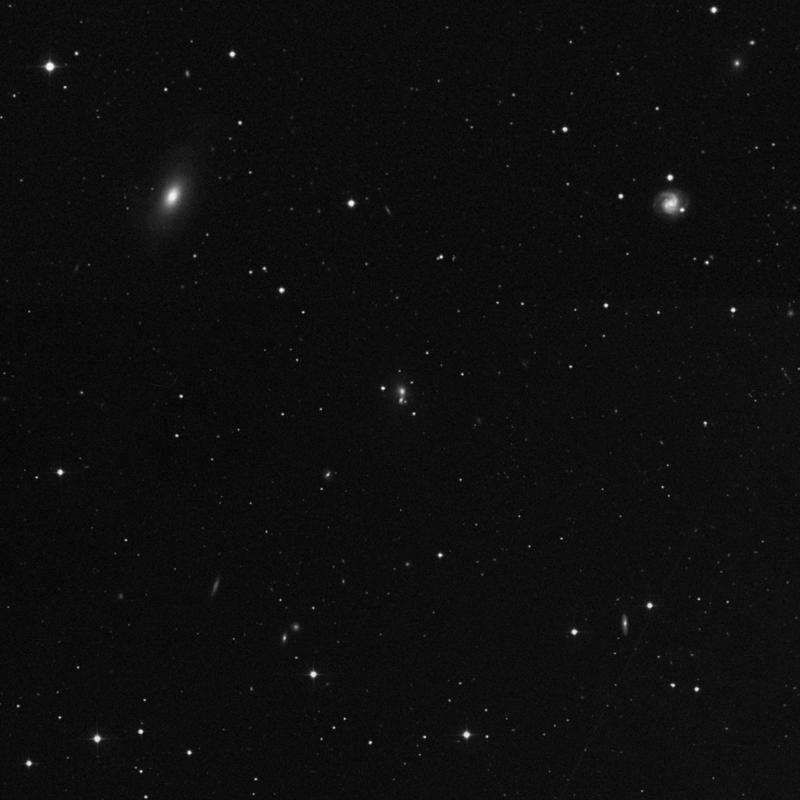Image of NGC 4893A - Elliptical (E?) Galaxy in Canes Venatici star