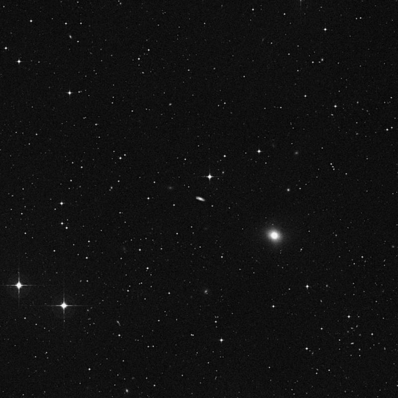 Image of NGC 4918 - Lenticular Galaxy in Virgo star