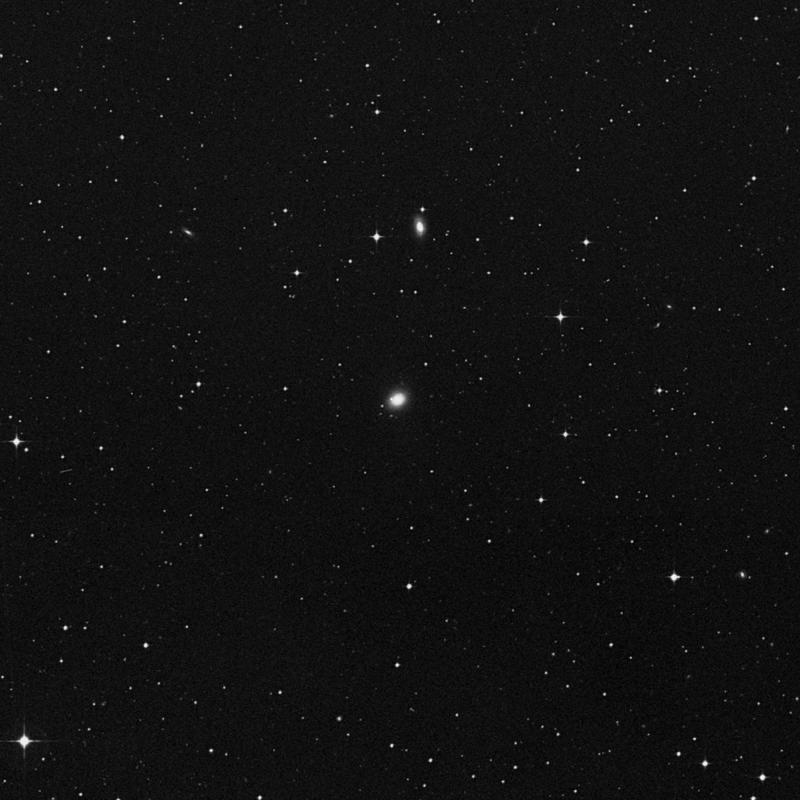 Image of NGC 4925 - Lenticular Galaxy in Virgo star