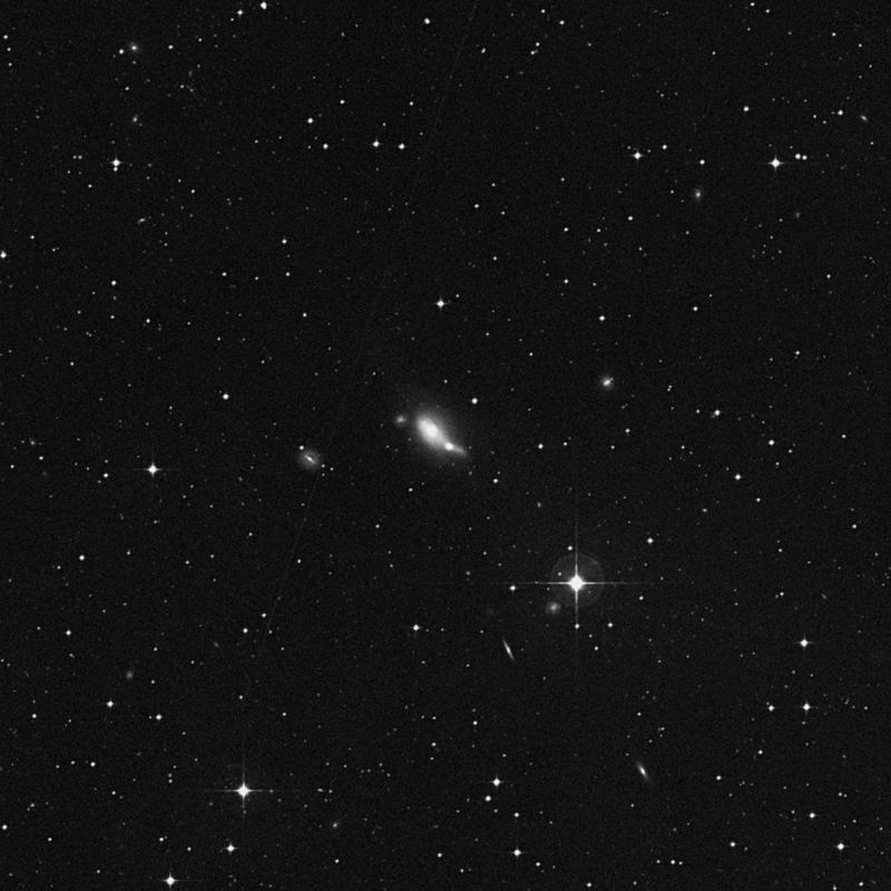 Image of NGC 4933A - Elliptical Galaxy star