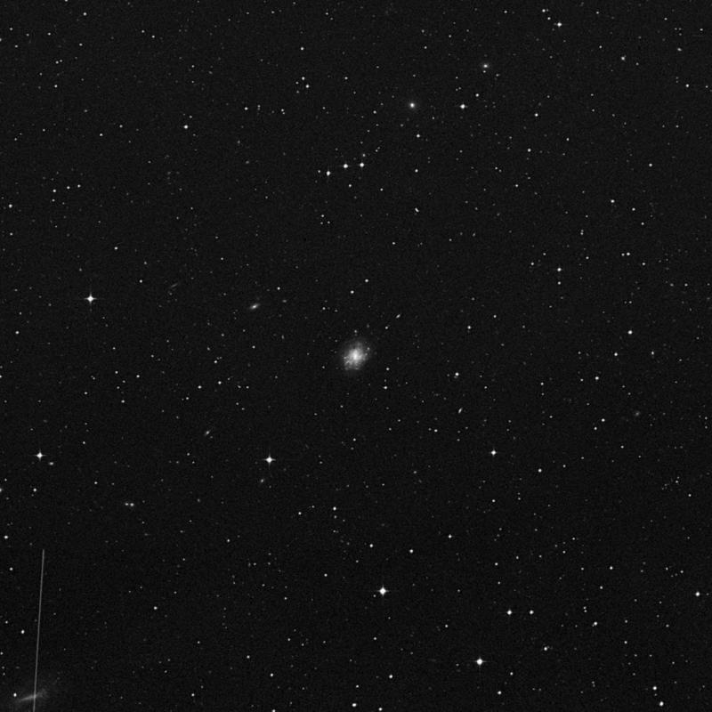 Image of NGC 4942 - Intermediate Spiral Galaxy in Virgo star