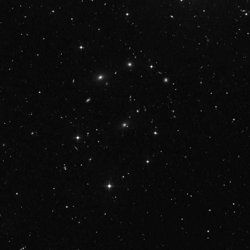 Image of NGC 4967 - Elliptical Galaxy in Ursa Major star