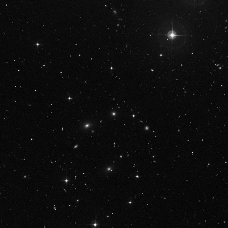 Image of NGC 4973 - Elliptical Galaxy in Ursa Major star