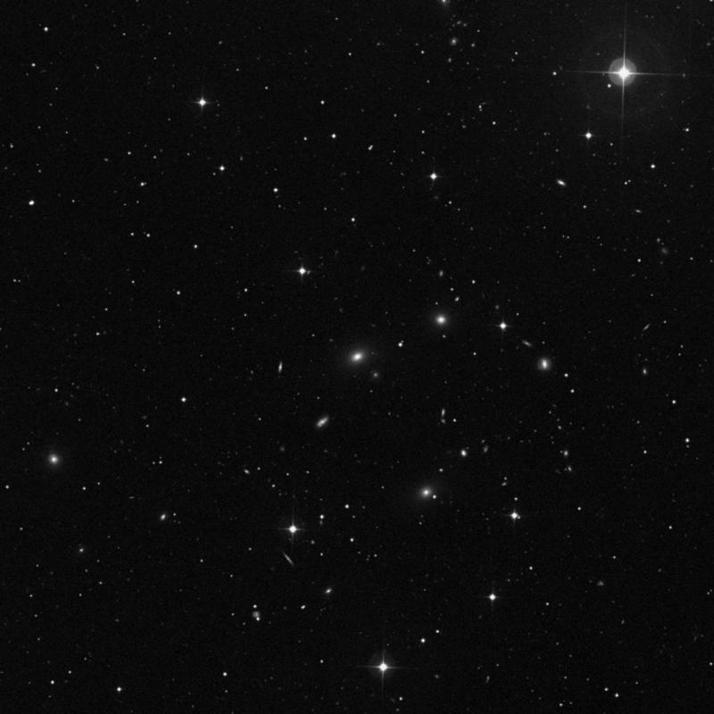 Image of NGC 4974 - Elliptical Galaxy in Ursa Major star