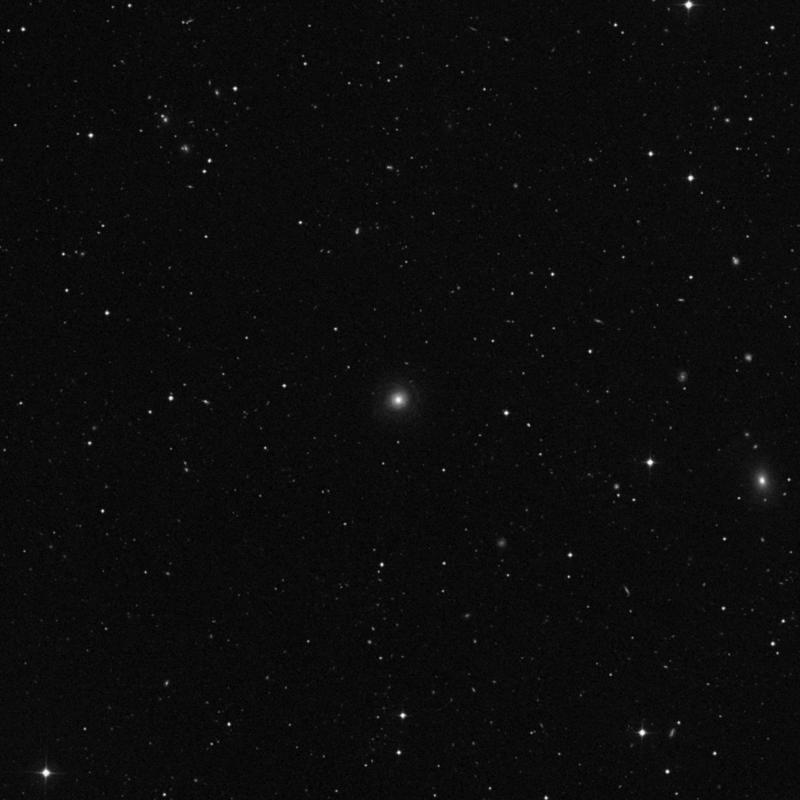 Image of NGC 4977 - Spiral Galaxy in Ursa Major star