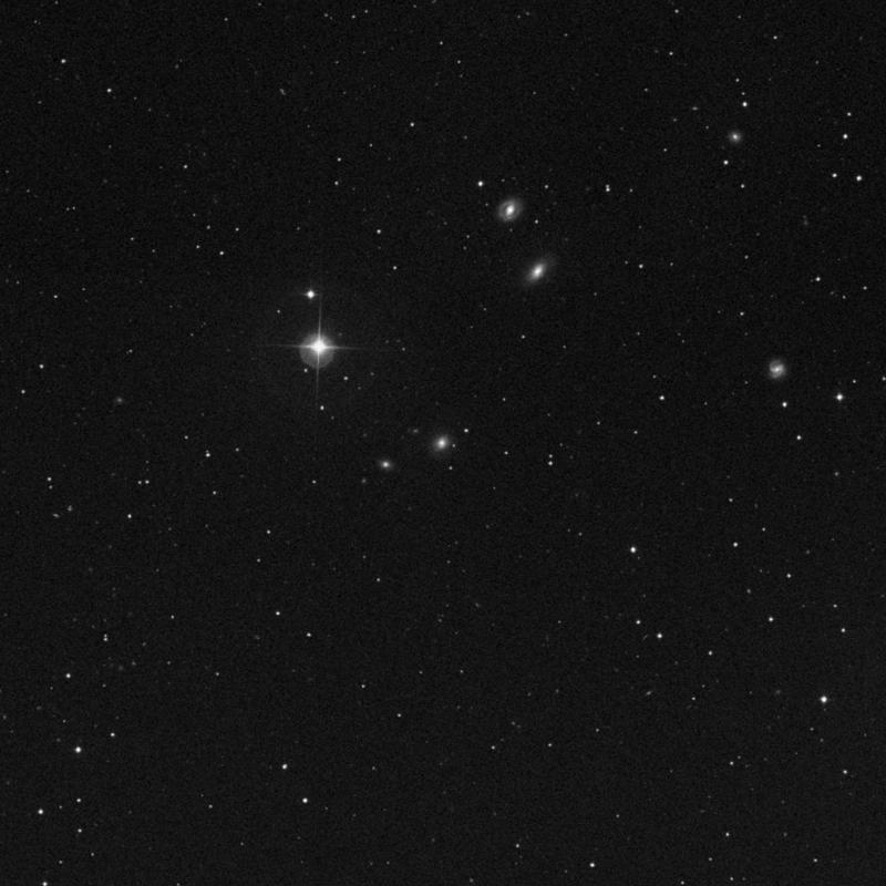 Image of NGC 5007 - Elliptical/Spiral Galaxy in Ursa Major star