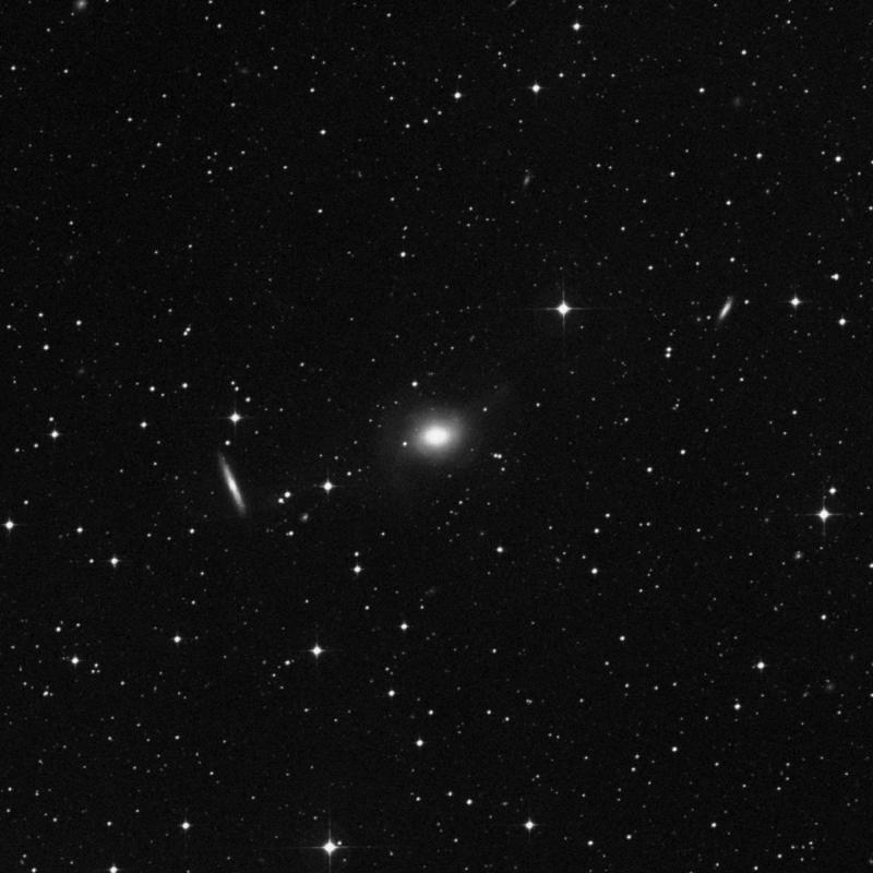 Image of NGC 5018 - Elliptical Galaxy in Virgo star