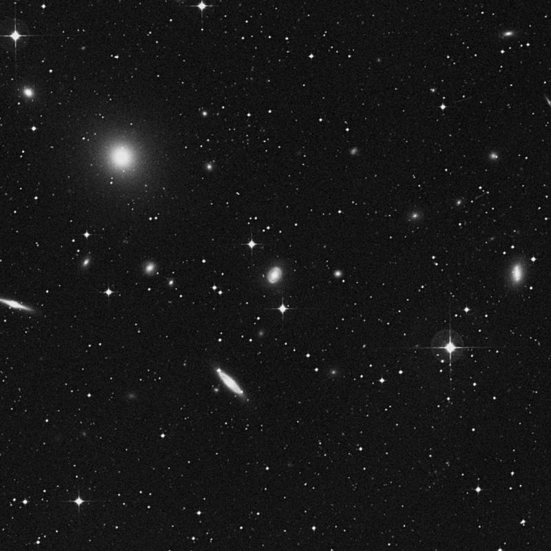 Image of NGC 5035 - Lenticular Galaxy in Virgo star