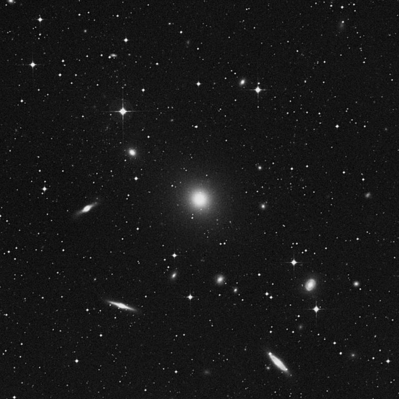 Image of NGC 5044 - Elliptical Galaxy in Virgo star