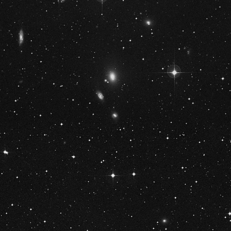 Image of NGC 5076 - Lenticular Galaxy in Virgo star