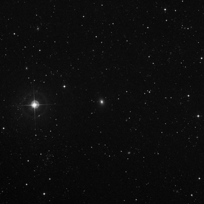Image of NGC 5163 - Elliptical Galaxy in Ursa Major star
