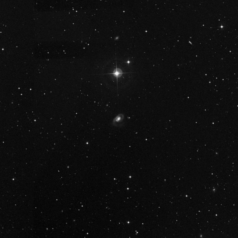 Image of NGC 5201 - Spiral Galaxy in Ursa Major star