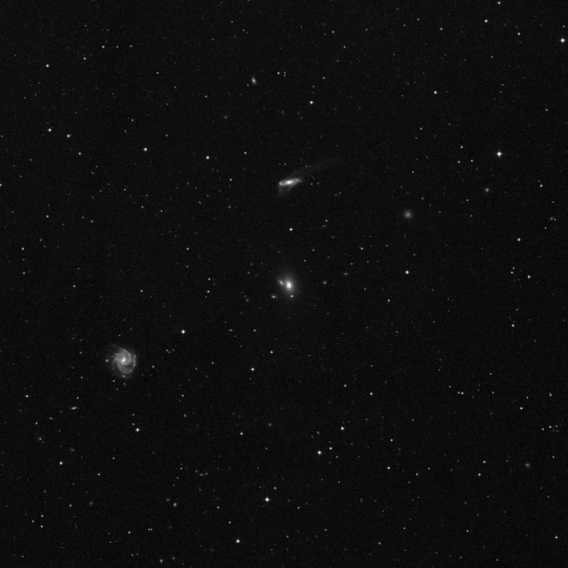 Image of NGC 5222 - Galaxy Pair in Virgo star