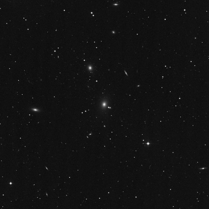 Image of NGC 5223 - Elliptical Galaxy in Canes Venatici star
