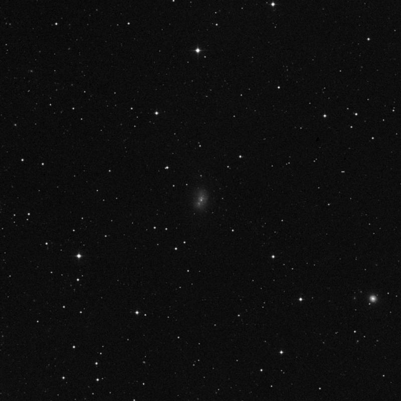 Image of NGC 5238 - Intermediate Spiral Galaxy in Ursa Major star