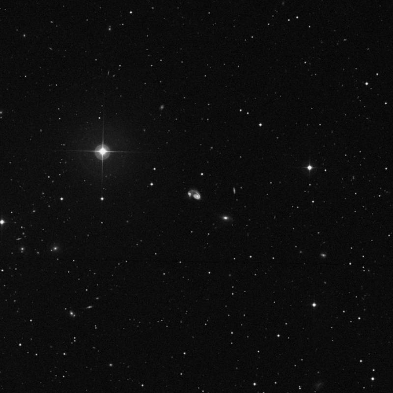 Image of NGC 5278 - Spiral Galaxy in Ursa Major star