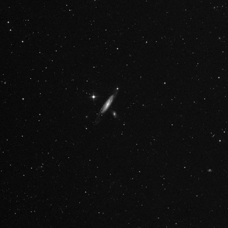 Image of NGC 5296 - Lenticular Galaxy in Canes Venatici star