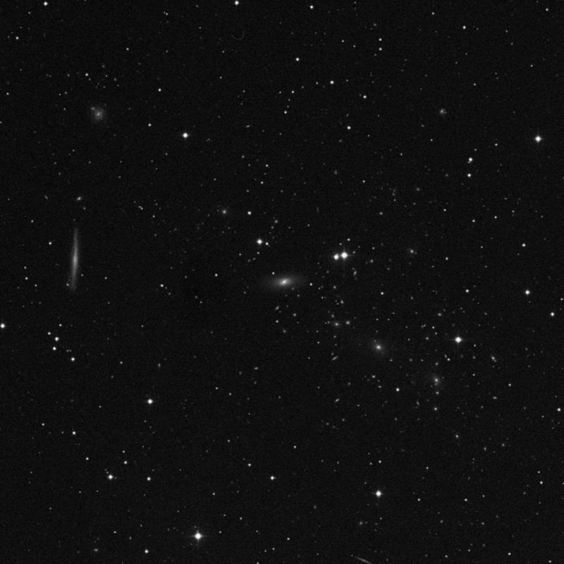 Image of NGC 5338 - Lenticular Galaxy in Virgo star