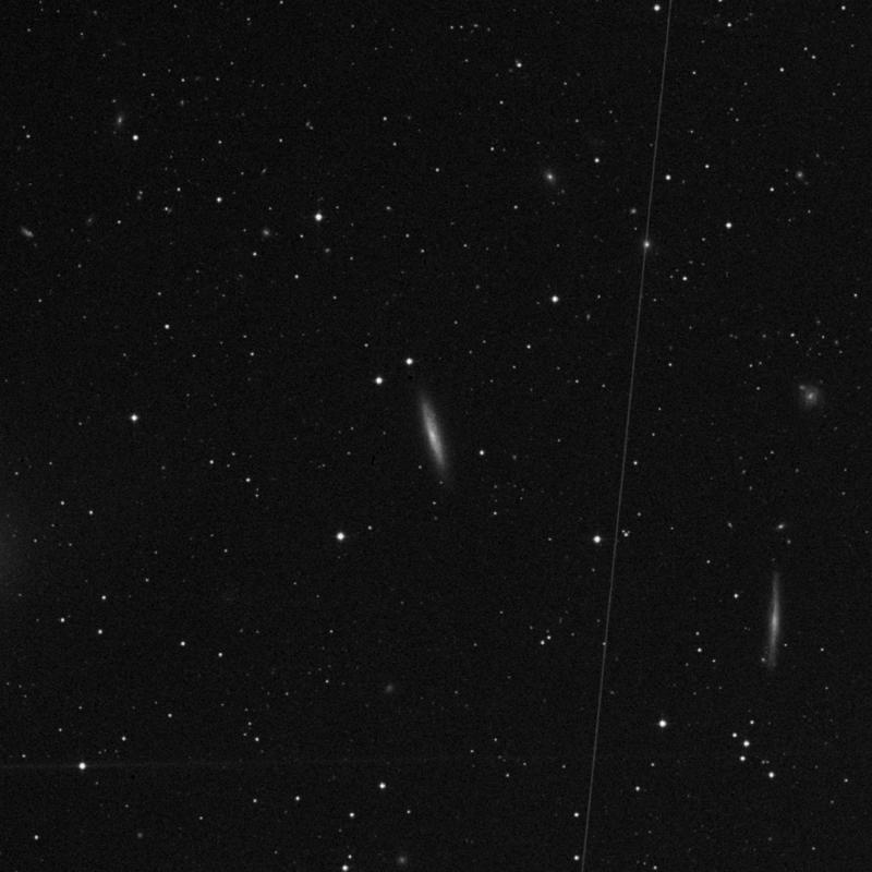 Image of NGC 5356 - Spiral Galaxy in Virgo star