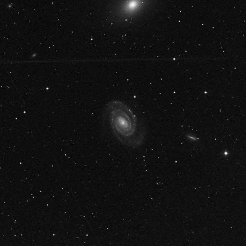 Image of NGC 5364 - Spiral Galaxy in Virgo star