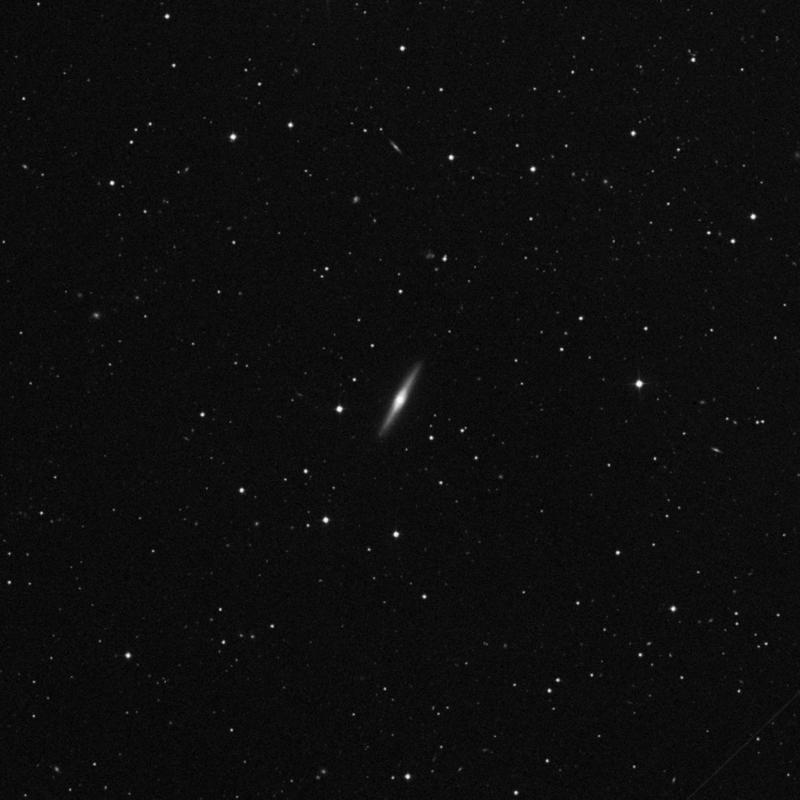 Image of NGC 5422 - Lenticular Galaxy in Ursa Major star