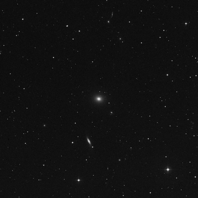 Image of NGC 5444 - Elliptical Galaxy in Canes Venatici star