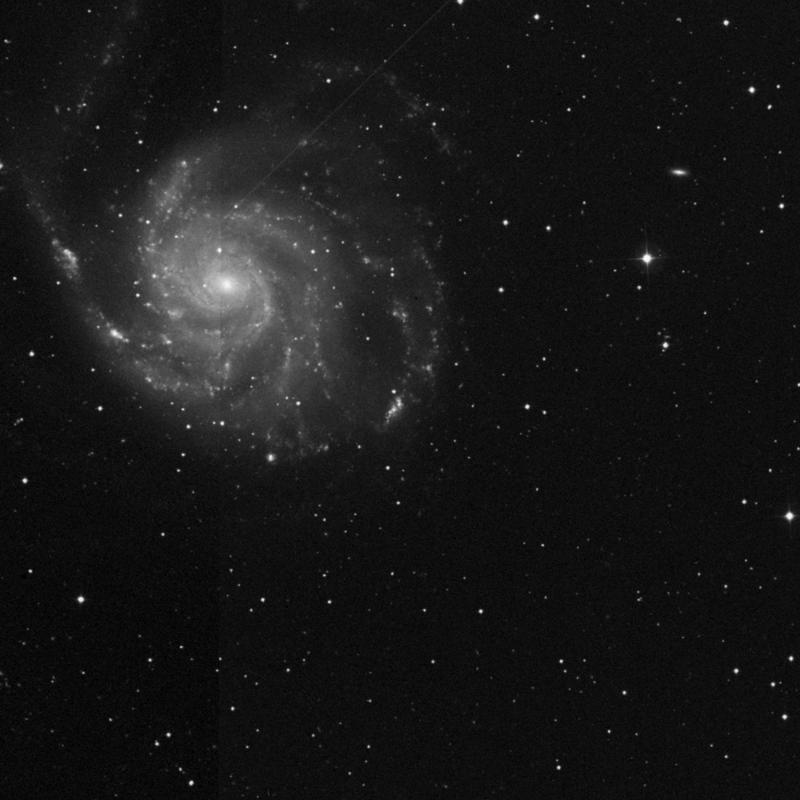 Image of NGC 5447 - HII Ionized region in Ursa Major star